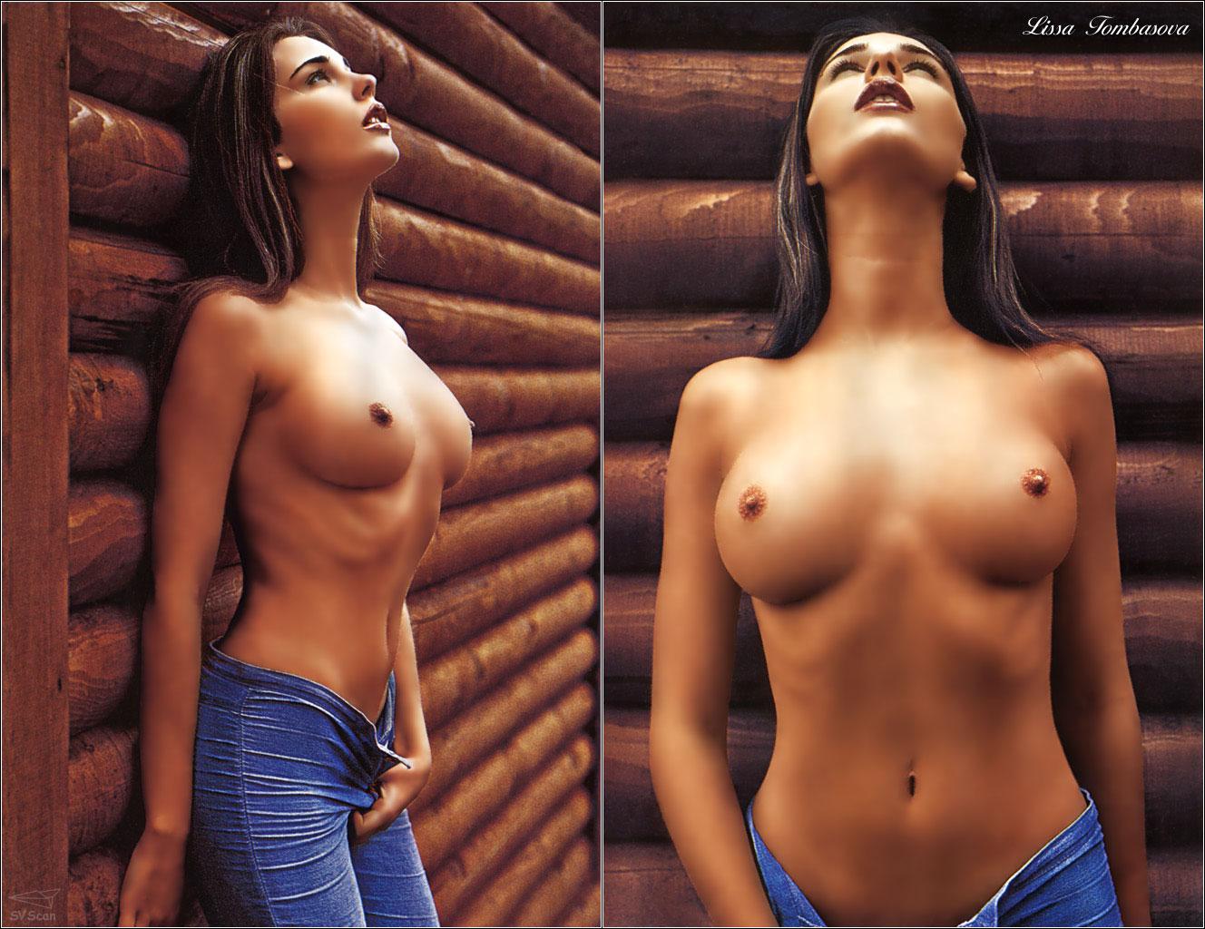 Фотографии среднего размера сисек 18 фотография
